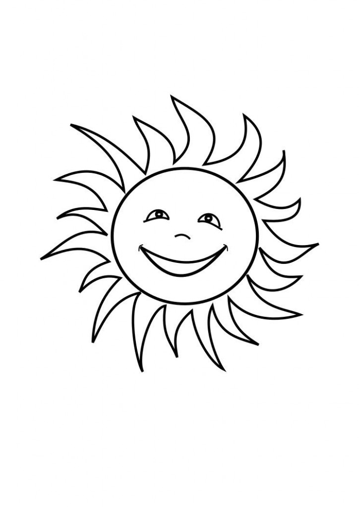 724x1024 Sun Coloring Pages For Kids Colouring Pages For Kids