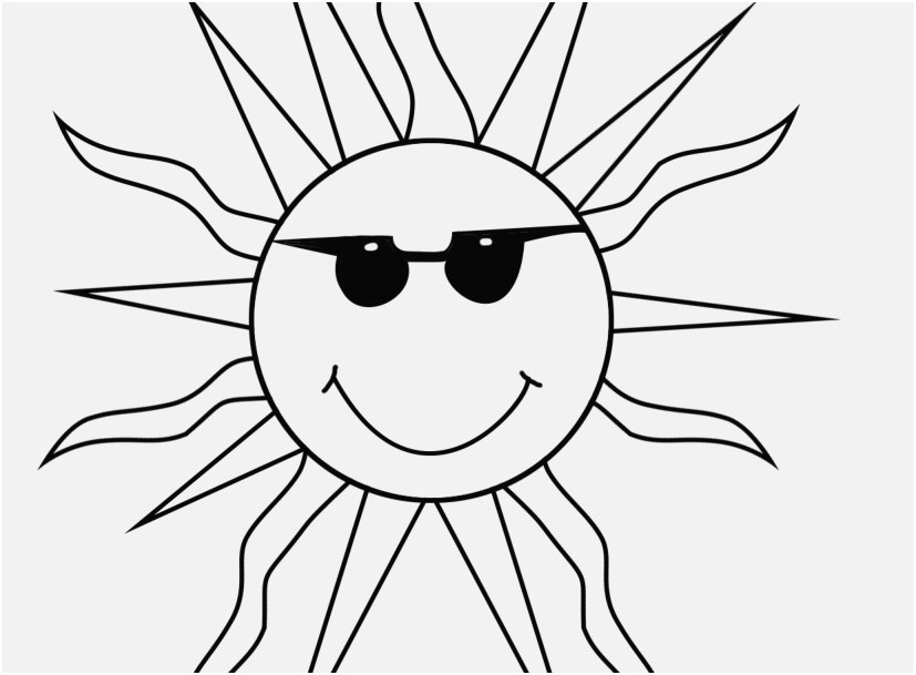 827x609 The Superior Pic Sunglasses Coloring Page Wonderful