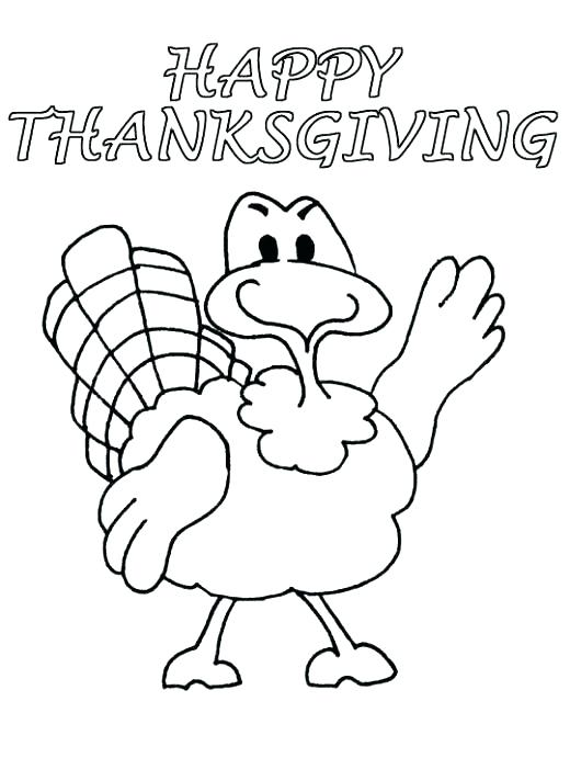 520x691 Free Thanksgiving Coloring Pages Printable Free Printable