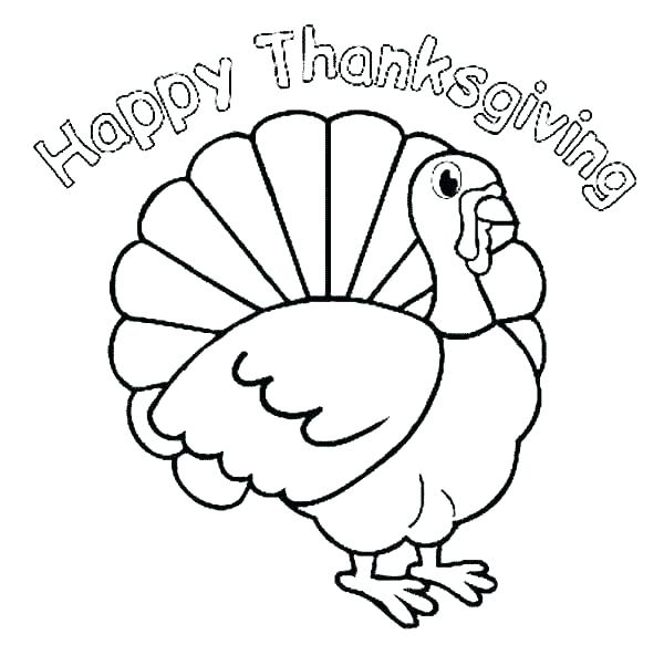 600x583 Thanksgiving Coloring Pages For Preschoolers Thanksgiving Coloring