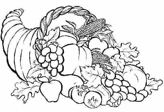 571x392 Free Coloring Pages Thanksgiving Free Coloring Pages