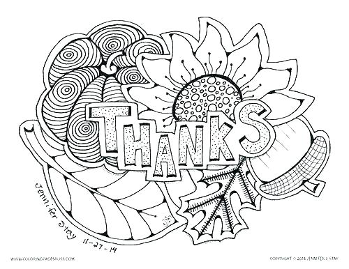 500x386 Free Printable Happy Thanksgiving Coloring Pages Free Printable