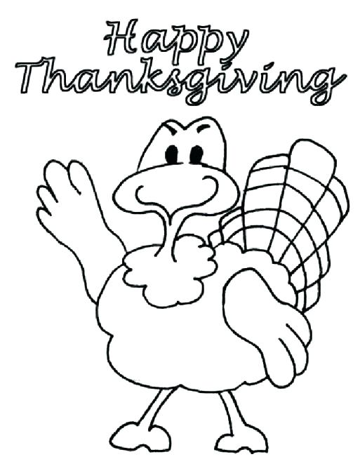 513x664 Happy Thanksgiving Turkey Coloring Pages Thanksgiving Day Coloring