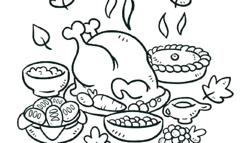 800x468 Turkey Coloring Pages For Preschoolers Thanksgiving Turkey