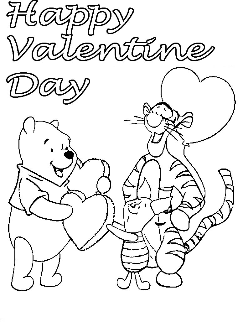 776x1028 Happy Valentines Day Coloring Pages Quotes Wishes