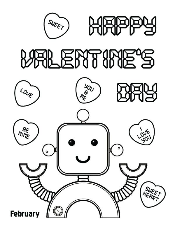 600x776 Happy Valentine Coloring Pages Happy Valentines Day Coloring Pages