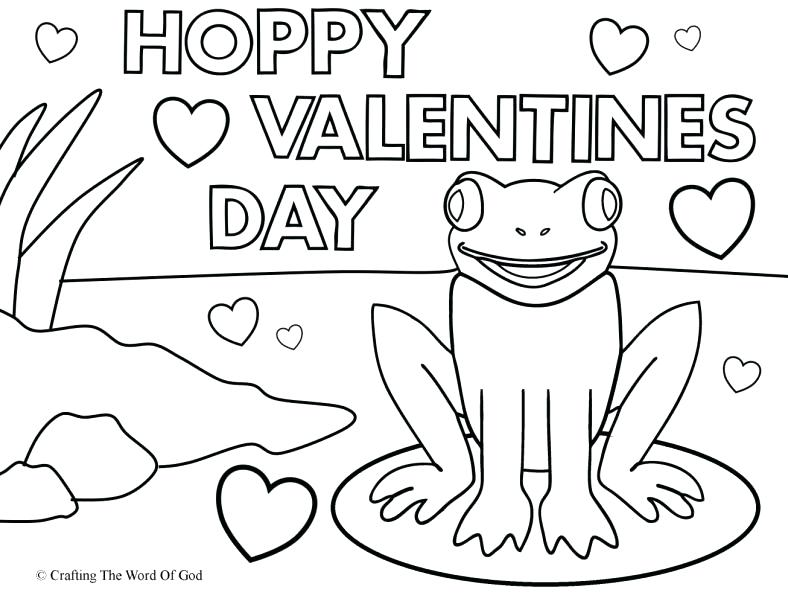 Happy Valentines Day Coloring Pages at GetDrawings.com | Free for ...