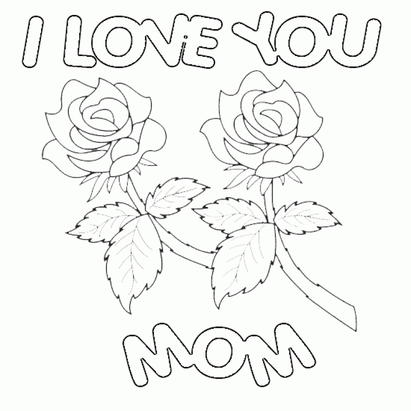 800x800 Happy Valentines Day Mom Coloring Pages Happy Valentines Day Mom