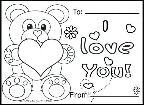 460x338 Happy Valentines Day Coloring Pages Even Frogs And Fish Is