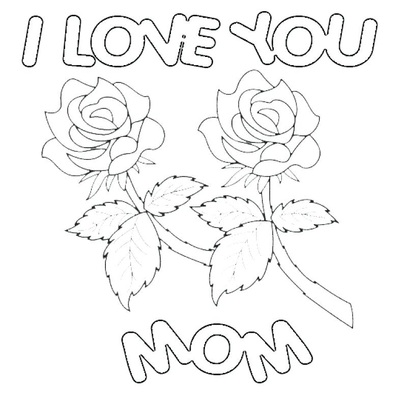 800x800 Happy Valentines Day Coloring Pages Printable Mom Page Vale