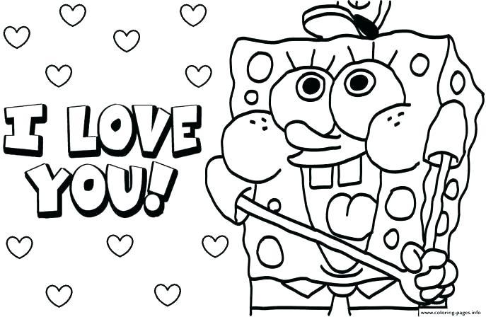 687x448 Printable Valentine Coloring Pages Valentines Printable Valentine