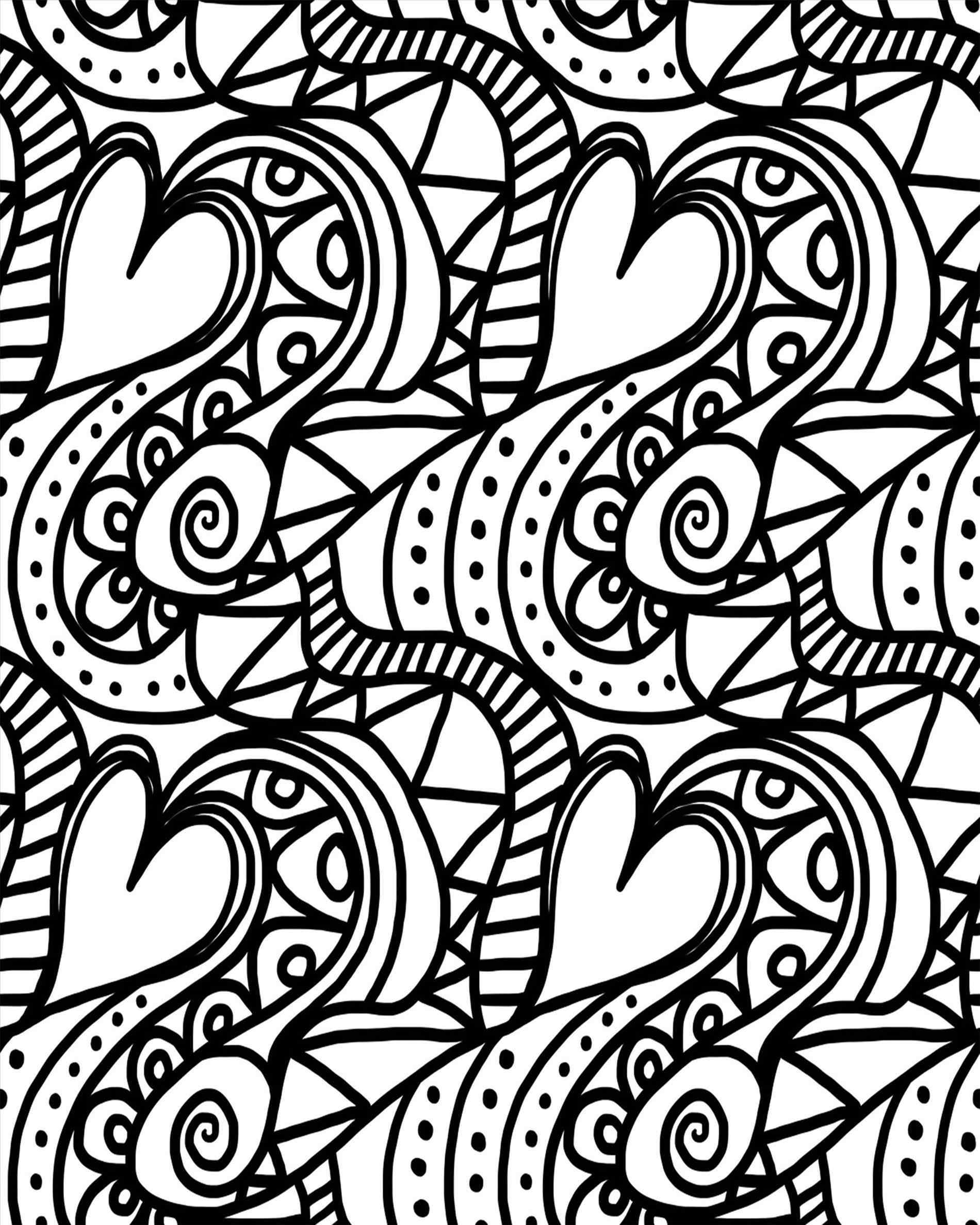 1900x2375 Sheets For Boys Valentineus Day Coloring Pages For Kids Printable