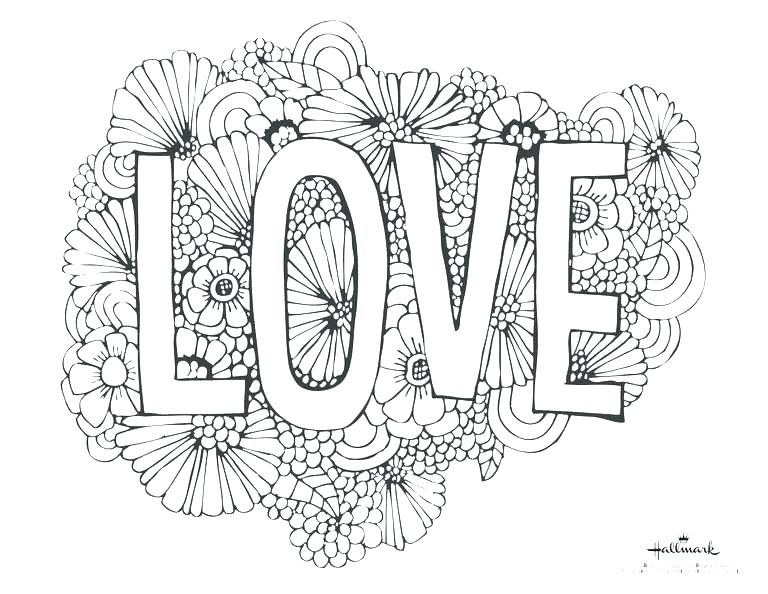 768x594 Valentines Day Colouring Mom Coloring Pages Happy Valentines Day