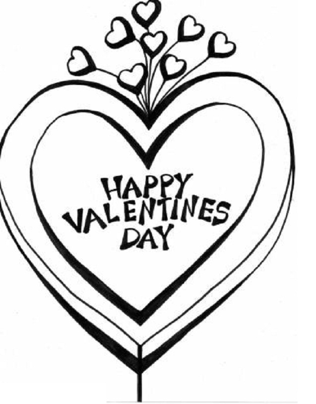 637x813 Free Printable Valentine Coloring Pages For Kids