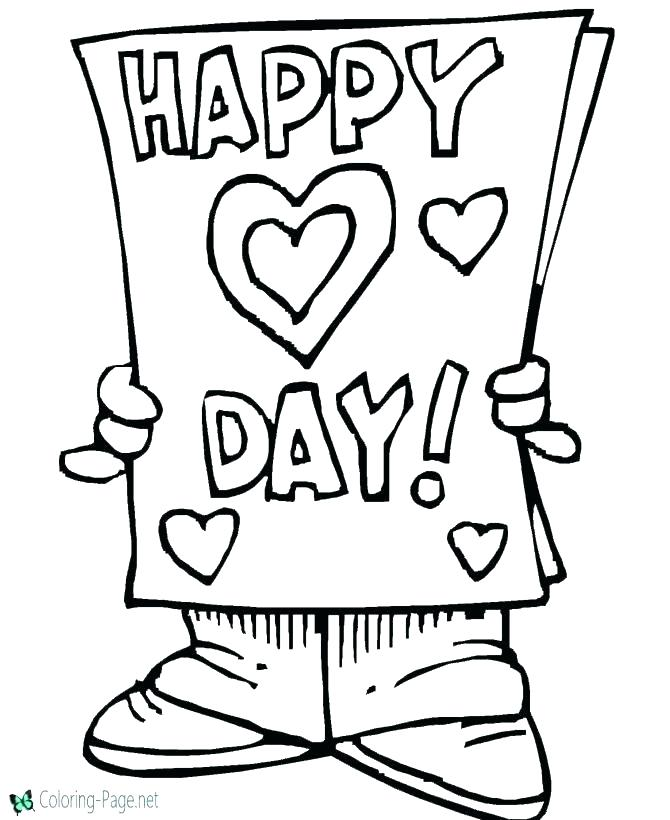 670x820 Coloring Page Of A Heart Valentine Day Heart Coloring Pages Hearts