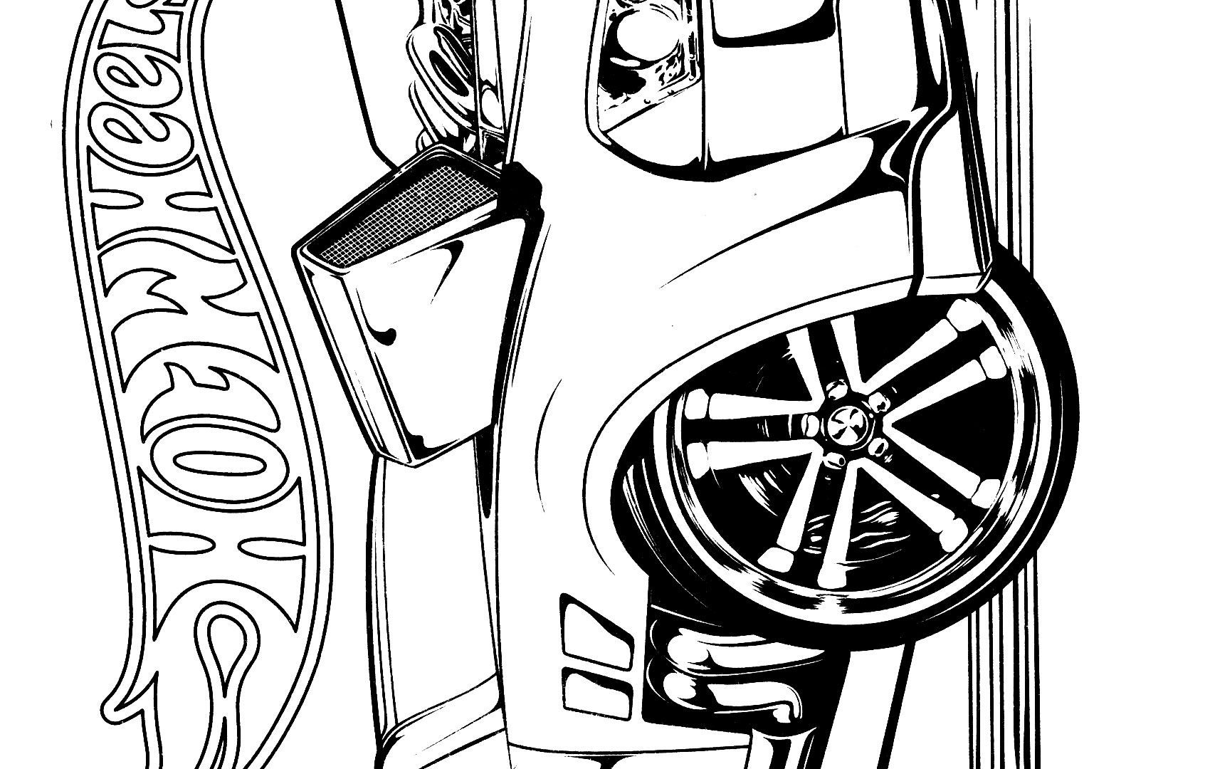 1700x1080 Hot Wheels Racing League Coloring Pages Set Hard Extreme Adult