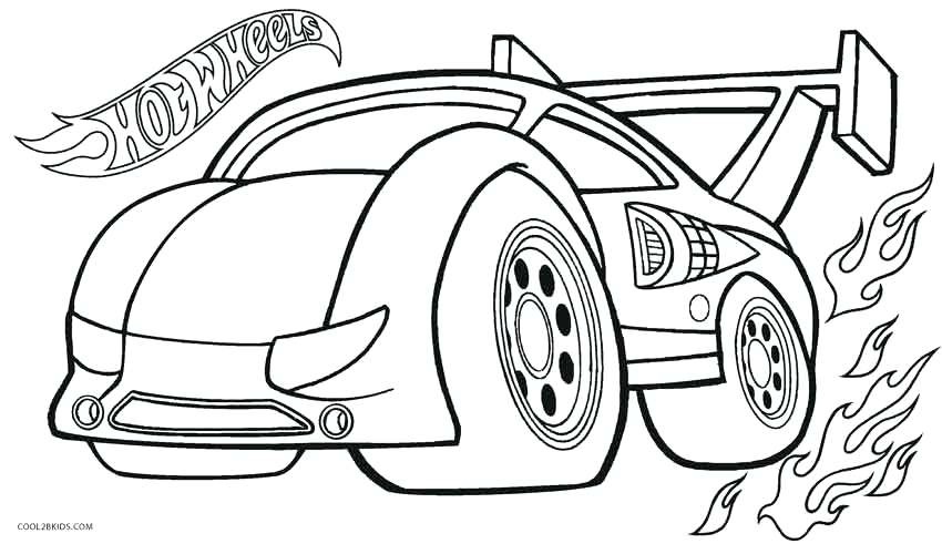 850x491 Car Coloring Pages Free Hot Wheels Coloring Books In Bulk Hot