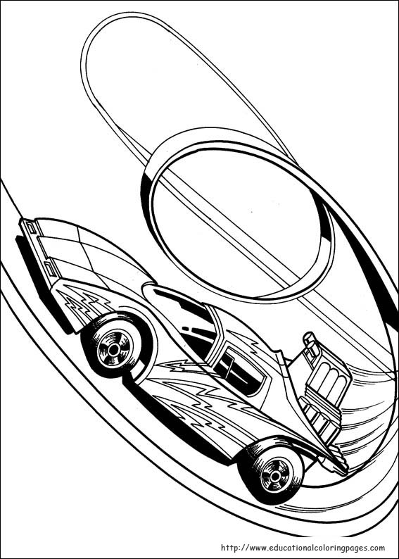 567x794 Strikingly Inpiration Hot Wheels Coloring Pages Free For Kids