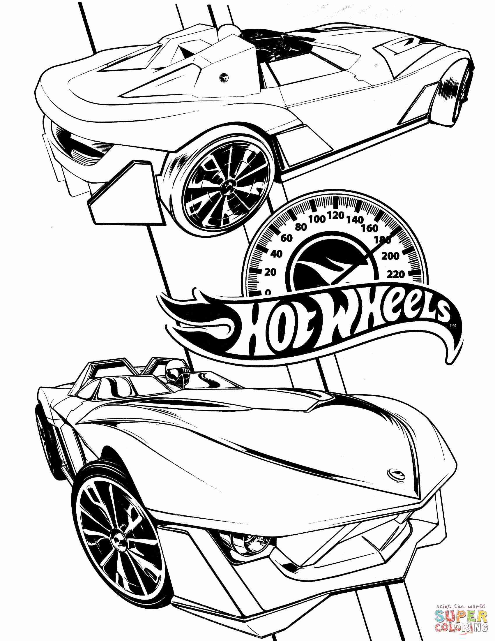 1700x2200 Free Printable Hot Wheels Coloring Pages For Kids Magnificent Page