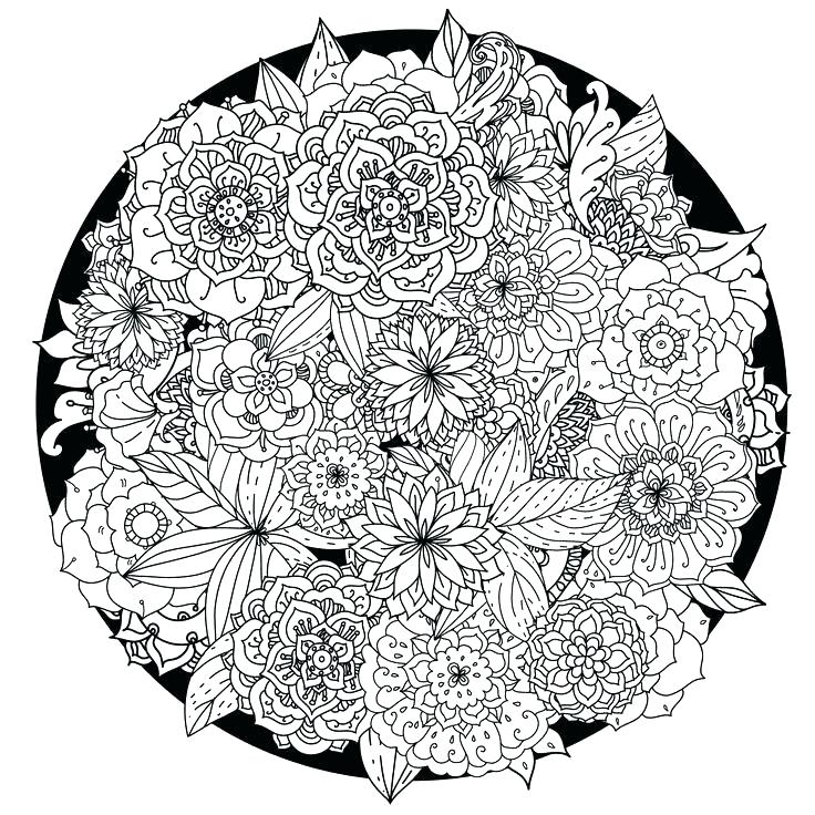 736x736 Abstract Coloring Pages Printable Mandala Coloring Pages To Print