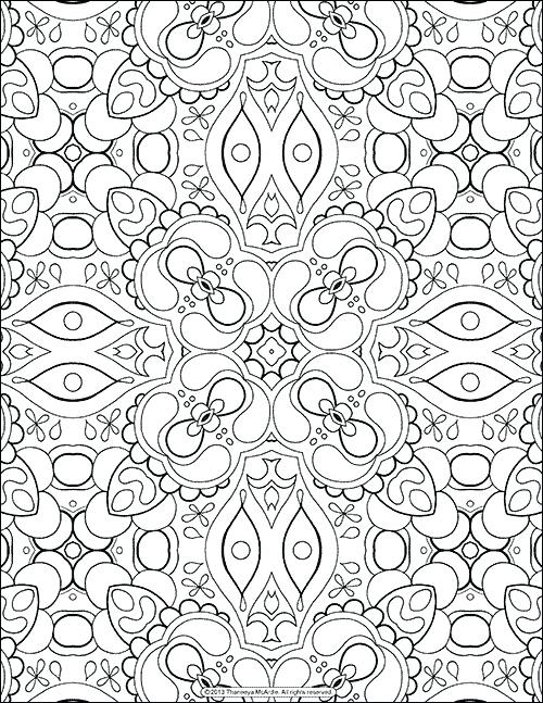 500x647 Abstract Printable Coloring Pages Coloring Pages For Adults