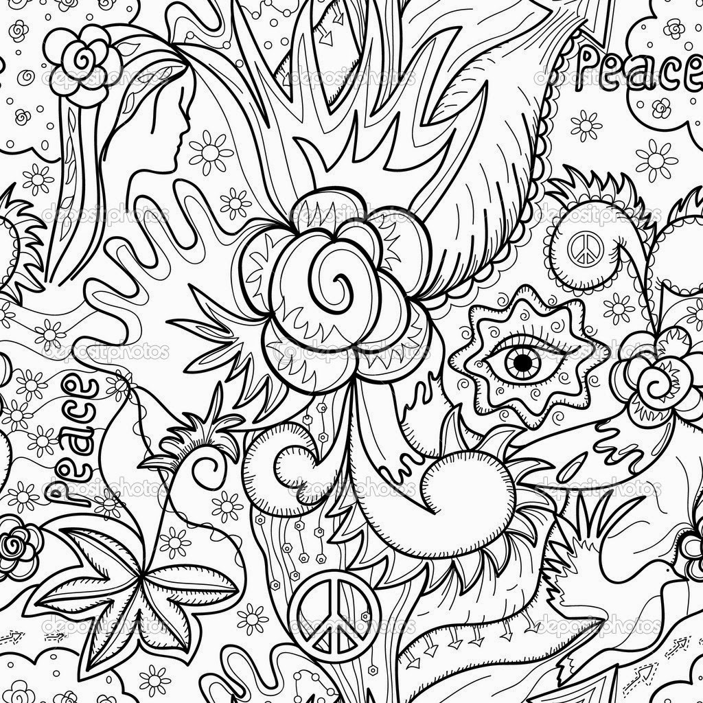 1024x1024 Coloring Pages Super Hard Abstract Coloring Pages For Adults