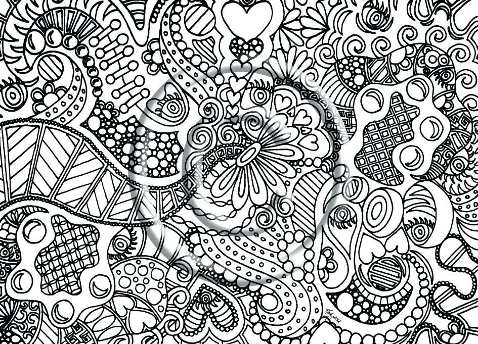945x681 Abstract Color Pages Coloring Pages That Are Hard Hard Coloring