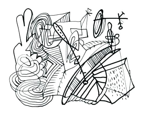 500x393 Free Abstract Coloring Pages Abstract Color Pages Abstract Color