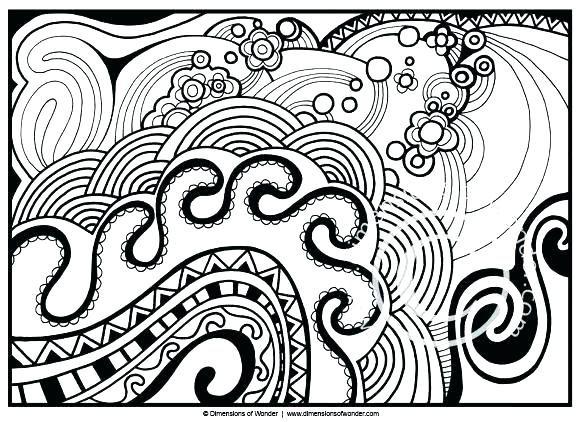 580x422 Idea Abstract Coloring Pages For Adults Or Abstract Coloring Pages