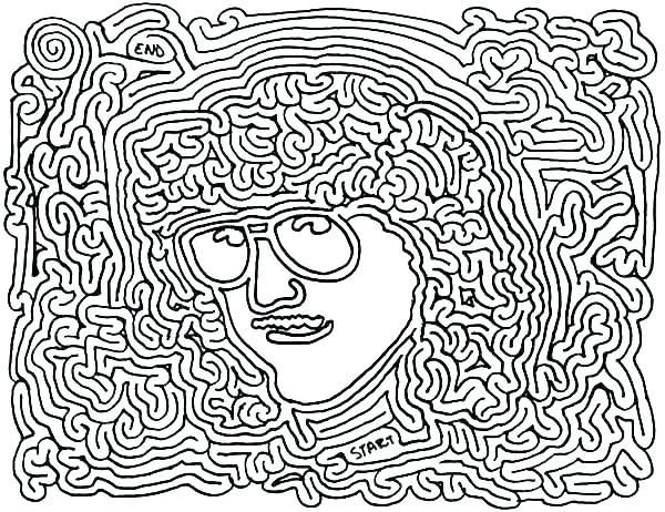 600x462 Printable Abstract Coloring Pages Stoner Coloring Pages Printable