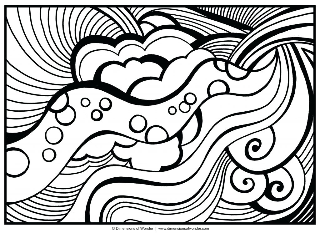 1024x745 Coloring Pages Abstract Coloring Pages Free Colouring In Cure