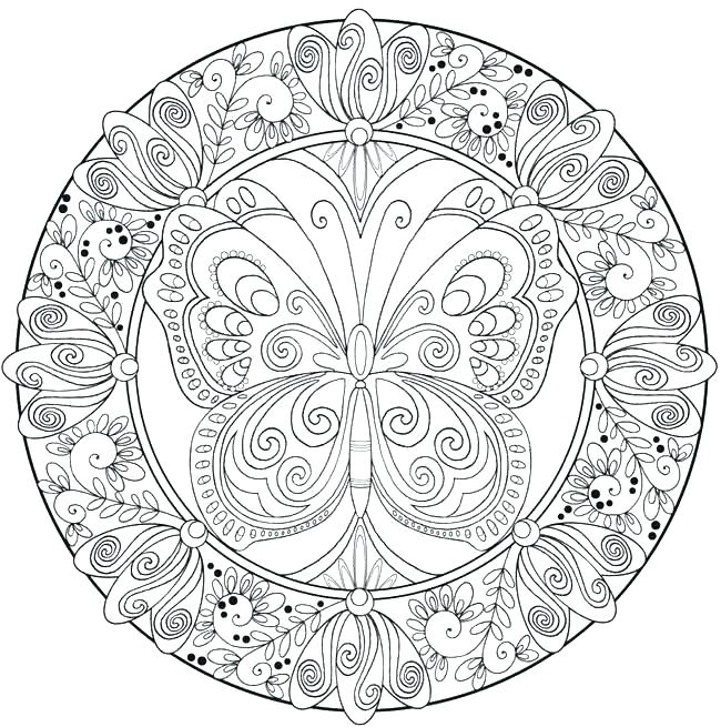650x655 Abstract Coloring Pages Free Printable Abstract Coloring Pages