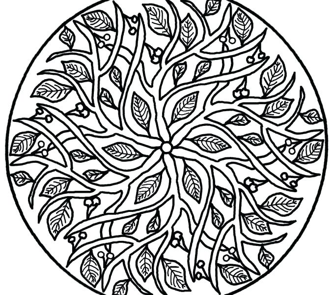 678x600 Hard Flower Coloring Pages Hard Flower Coloring Pages Hard