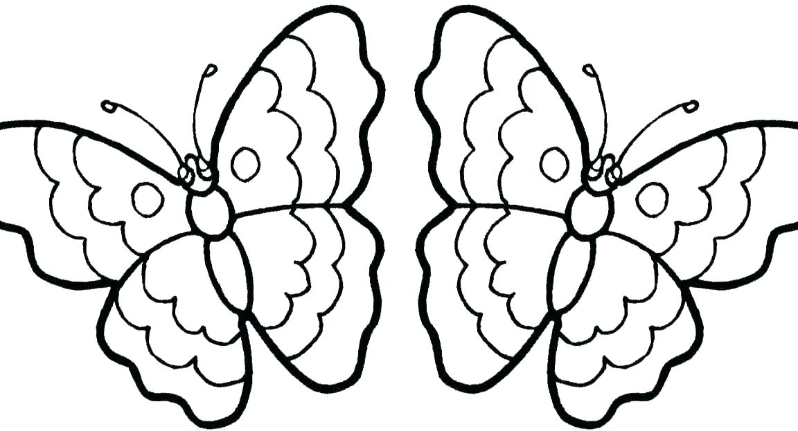 1152x623 Butterflies Coloring Pages