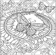 236x232 Hard Zentangle Coloring Pages