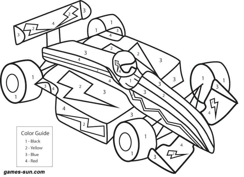 Hard Car Coloring Pages