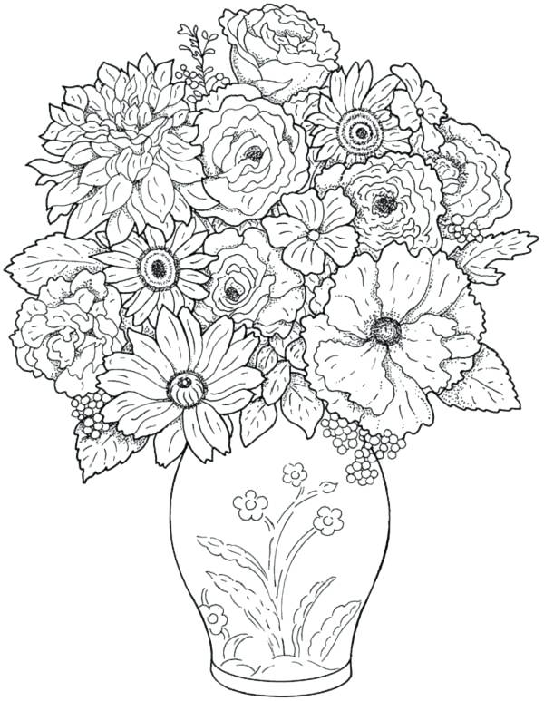 600x773 Hard Coloring Pages That You Can Print Modern Design Coloring