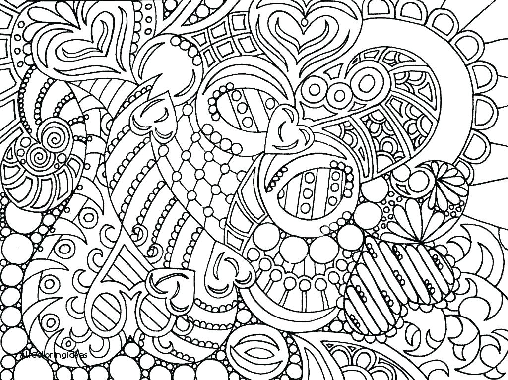 Hard Coloring Pages For Adults Printable at GetDrawings com
