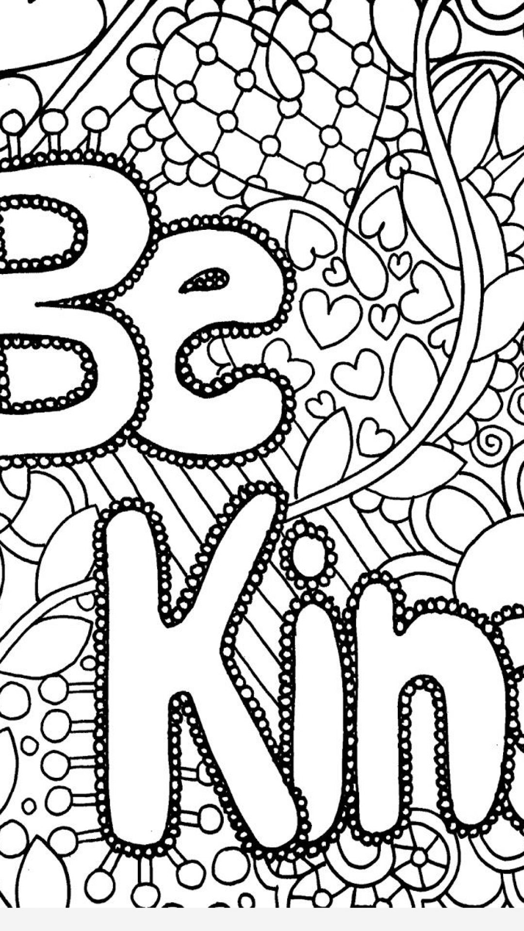 1080x1920 Best Of Hard Colouring Pages For Teenagers Color Bros