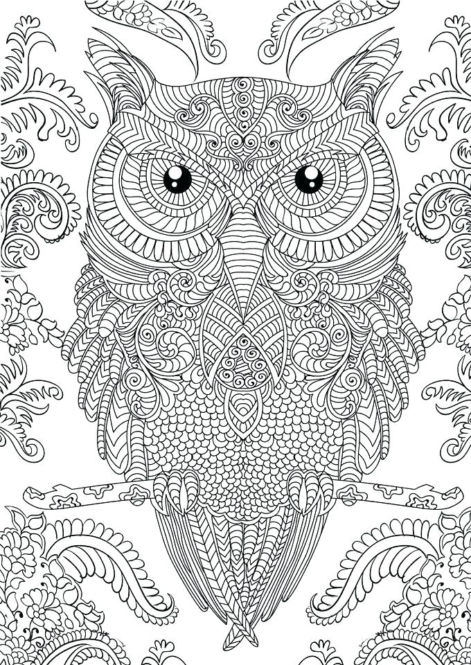 680x960 Free Difficult Coloring Pages