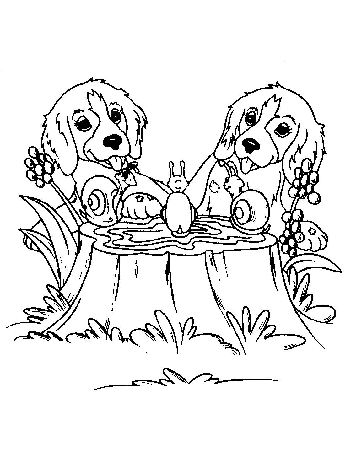 Hard Coloring Pages Of Dogs at GetDrawings | Free download