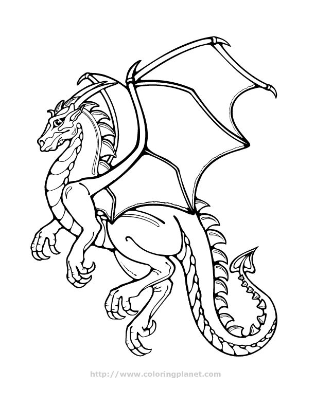 Hard Coloring Pages Of Dragons At Getdrawings Free Download