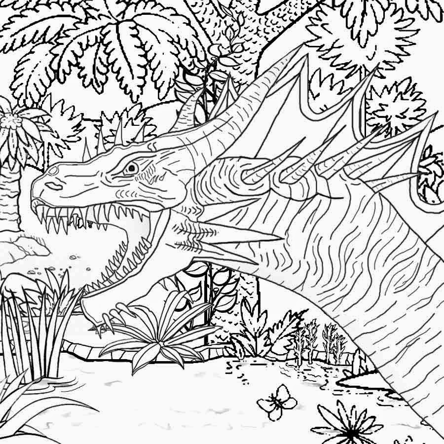 900x900 Unique Hard Coloring Pages Of Dragons Collection Free Coloring Book