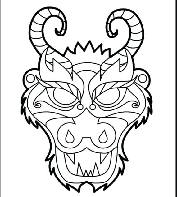 570x637 Cool Dragon Pictures To Color Realistic Dragon Coloring Pages Hard