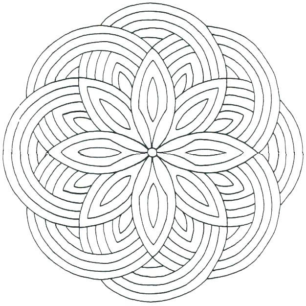 626x625 Free Printable Hard Coloring Pages For Adults Plus Hard Coloring