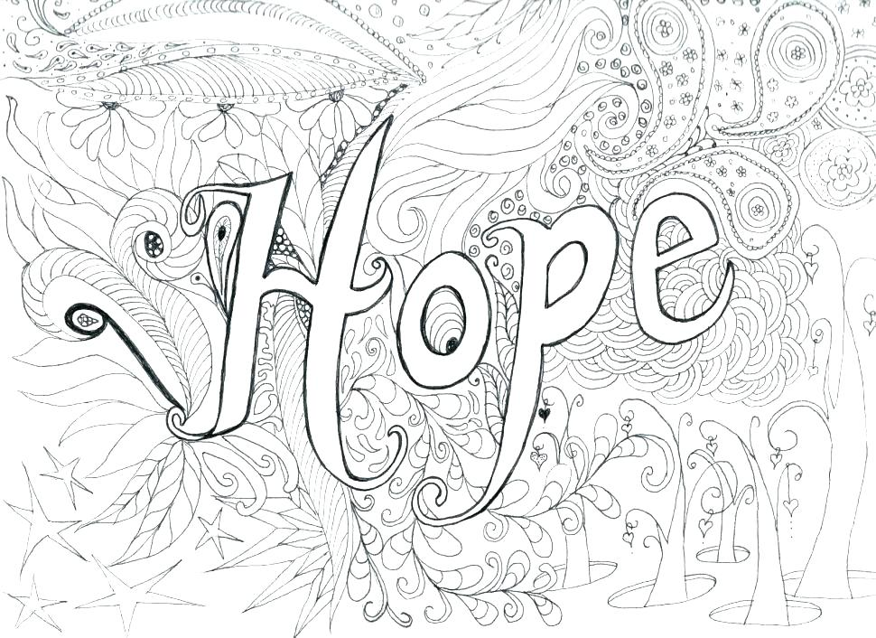 970x706 Hard Coloring Pages To Print Coloring Hard On Urban Threads