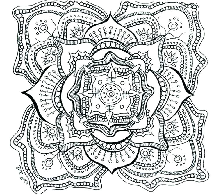 736x671 Free Printable Difficult Coloring Pages