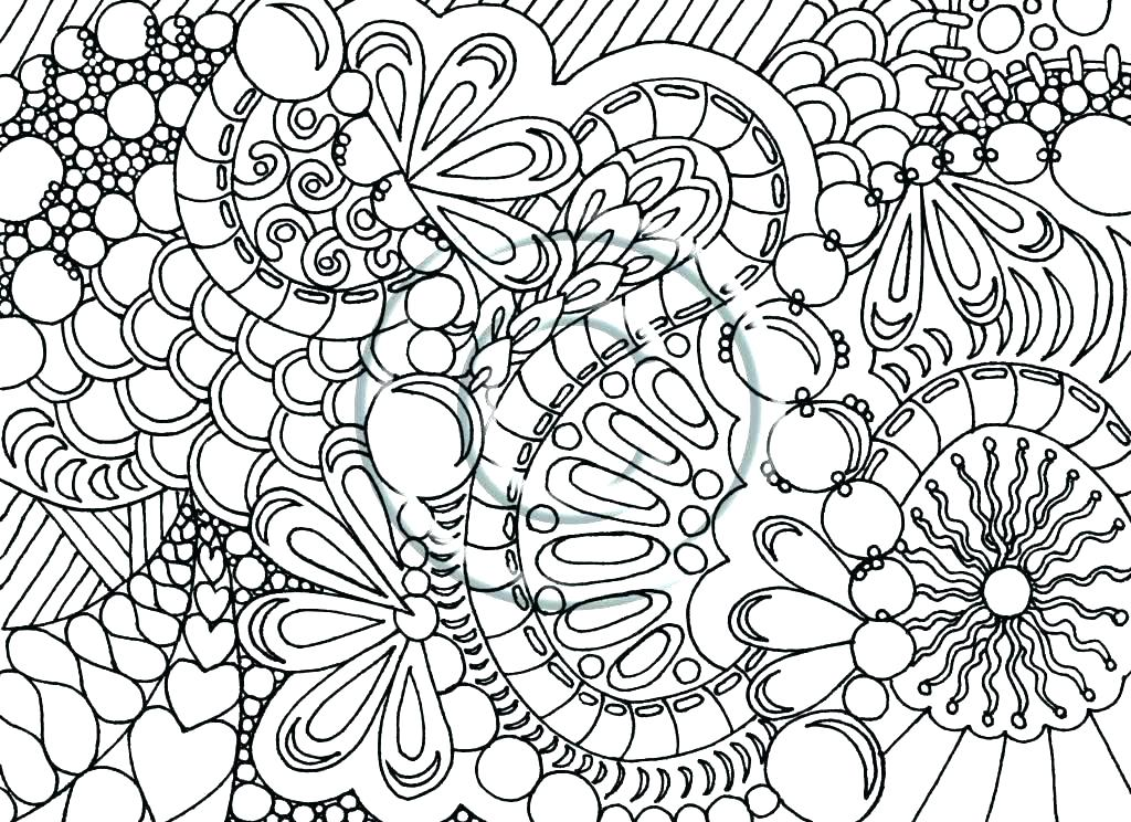 1024x744 Difficult Coloring Pages Free Hard Coloring Pages To Print Free