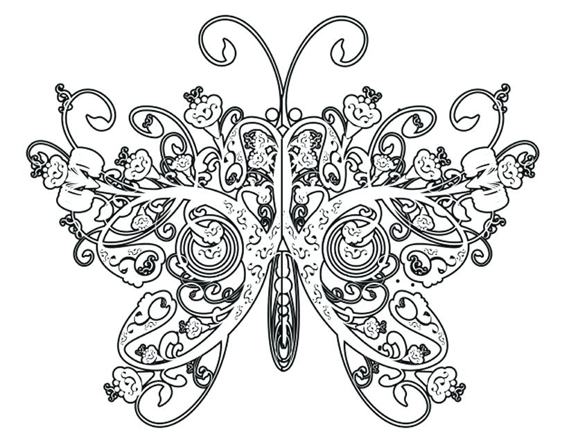 821x632 Difficult Coloring Pages Hard Pattern Coloring Sheets Coloring