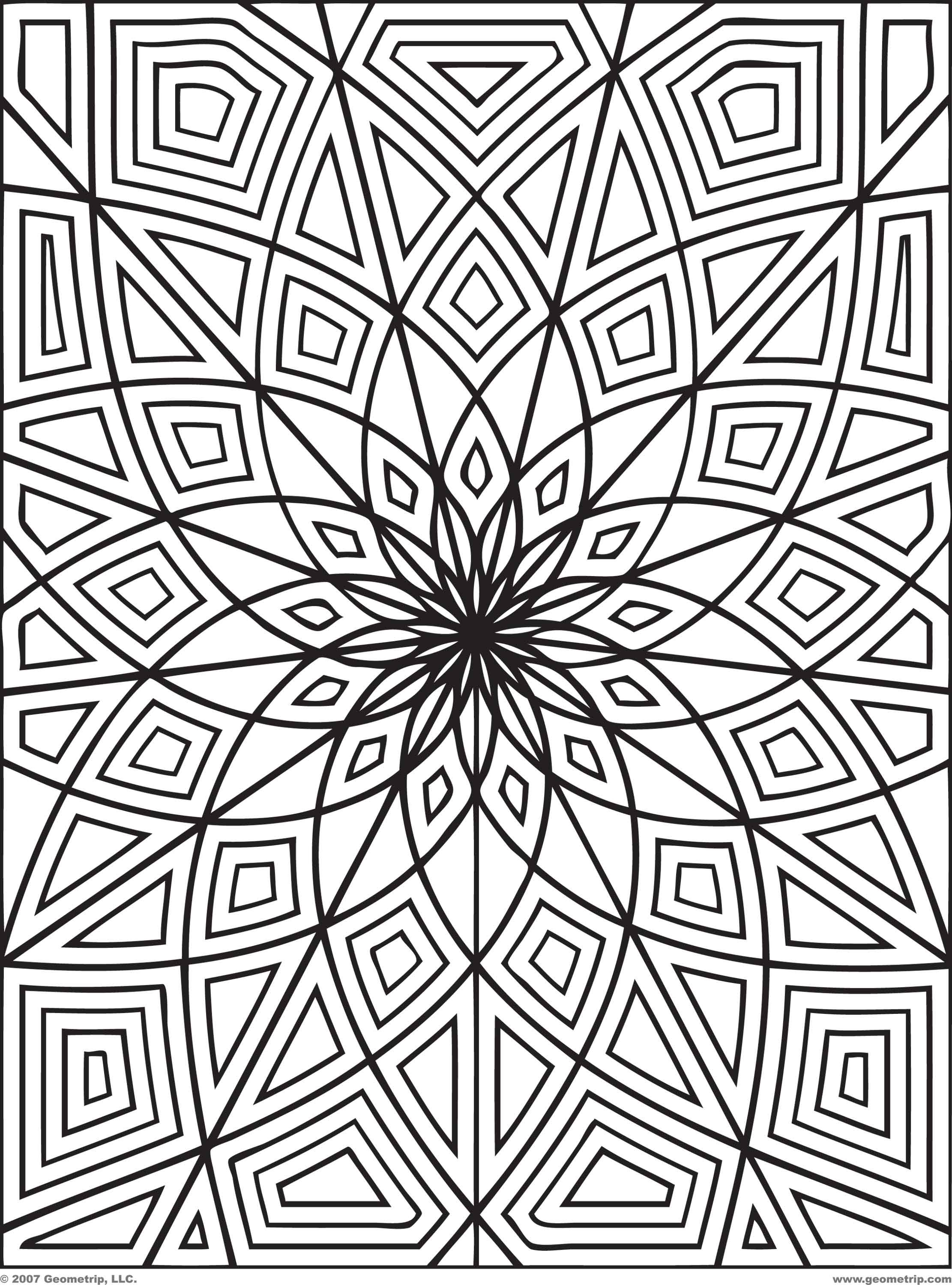 2222x3000 Hard Pattern Coloring Pages Many Interesting Cliparts New